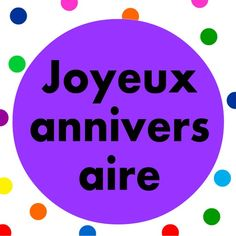 French kids song.  Sing along to our favorite  birthday song, Joyeux anniversaire song with lyrics.