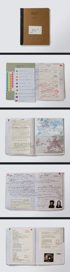 Nick Cave Notebook - Original 01