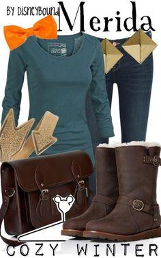 Merida by Disney Bound  Fashion Disney Outfit