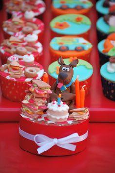 Large Scooby Doo Cupcake