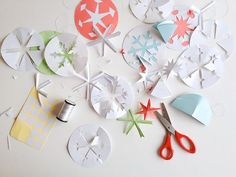 How To Make Better Paper Snowflakes