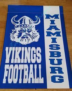 Miamisburg Vikings Football flag