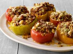Sausage-and-Basil-Stuffed Tomatoes