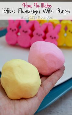 Edible playdough rec