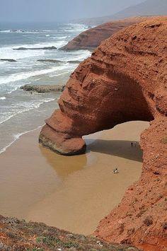 Legzira Beach, Marruecos.