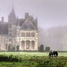 hors, country houses, mansion, heaven, fairy tales, english castles, fairi, place, dream houses