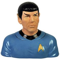 for my treats. Spock Cookie Jar