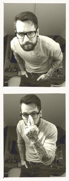 tattooed boys, beard, tattooed guys, tattoo ink, adorable tattoo guys