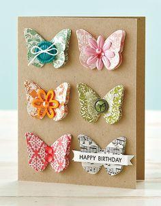 Birthday Butterflies Card by @SarahMoerman