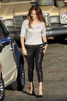 Jennifer Lopez street style.