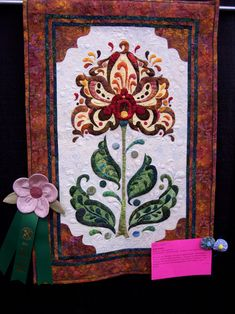 Magical Threads - Inspired Stitches Quilt Show 2013 - Garden Quilt