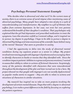 grad school essays for psychology