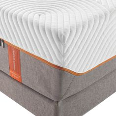 TEMPUR-Contour™ Rhapsody Luxe is a favorite combination of deep contouring comfort and Tempur-Pedic's famous support. You'll love the EasyRefresh™ Top Cover that's simple to remove, wash and replace, and the moisture-wicking, cool-to-the-touch SmartClimate™ System. #sleephappens #mattresswarehouse #tempurpedic