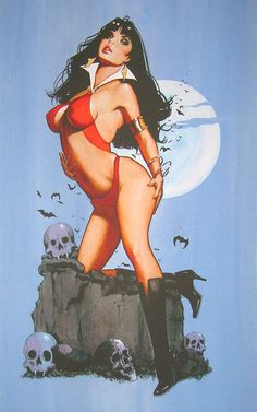 Vampirella by Jim Silke