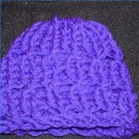 Knifty Knitter hat pattern for all sizes