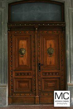 Door, Betliar castle, Slovakia