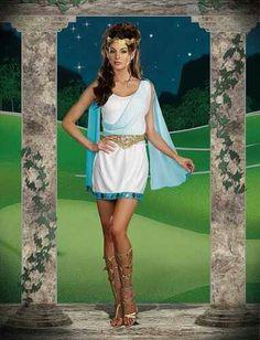 Disfraz diosa griega