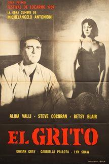 Posteritati: GRIDO, IL (Cry, The) 1957 Argentine 1 Sheet (29x43)