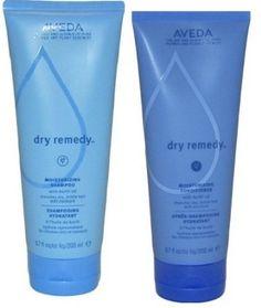 Dry Remedy.   Shampoo: Dreches hair with moisture, color-safe moisture  Conditioner: Drenches hair with moisture, effortlessly detangles hair