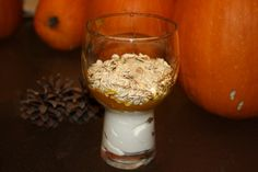 Fall Pumpkin Parfait-- simple and delicious.