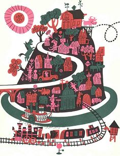 The Day the Cow Sneezed  James Flora ~ Harcourt, 1957