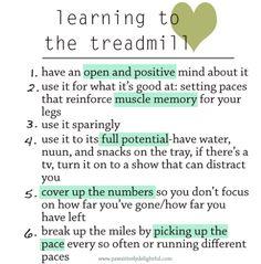 #running tips! #treadmill how to love running on a treadmill!