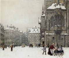 T. F. Simon       Czech      1877-1942      Staromestske Namesti in Winter