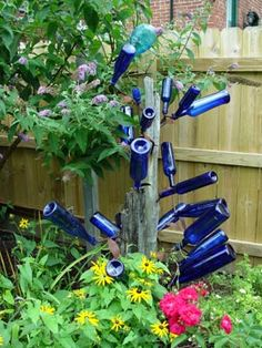 Bottle trees are making a comeback from their  9th-century African roots.