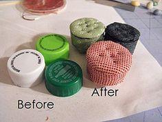 making bottles for miniatures   Miniature Tutorials - a set on Flickr