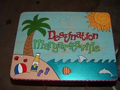 Margaritaville TV tray