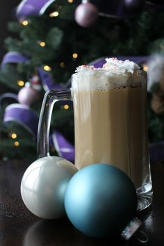 The Mocha Mistletoe is the perfect Kahlua cocktail for the holidays!