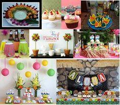 Luau party idea