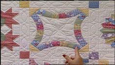 Double Wedding Ring Quilt Video Tutorial . The most popular pattern since sliced bread is made quick and easy with Eleanor's applique techniques. She also shares variations of the pattern from some very clever quilters.
