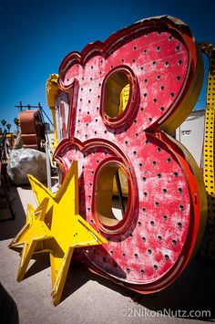 #Neon #Signage B star