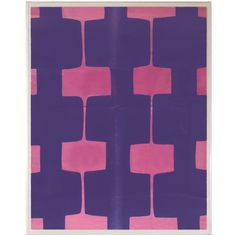 #Modern #Wall #Art | Natural Curiosities - Paule Marrot Fuchsia | $2,550