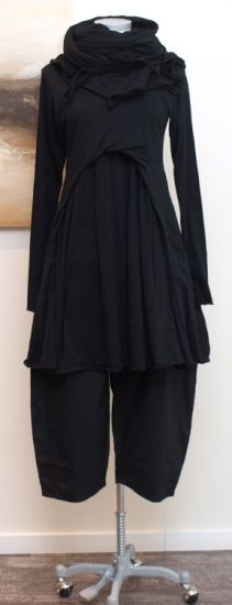 stilecht - mode für frauen mit format... - rundholz black label - Tunika Dots black - Sommer 2013
