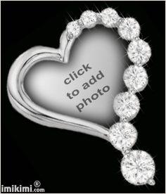 I love you diamond heart - imikimi.com