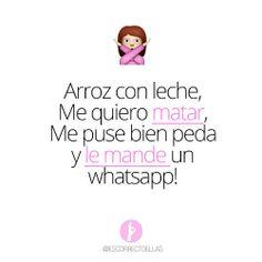Hahahaha frases en espanol @escorrectoellas