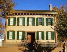 Lincoln's Home Springfield, IL illinoi