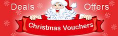 Christmas Vouchers - Avoid Shopping rush on christmas and make affordable online shopping. find out latest Christmas vouchers for cloths, cards, flowers and holiday packages and delight your shopping experience on christmas.