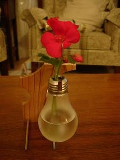I am amazed at the many, many ways to upcycle light bulbs