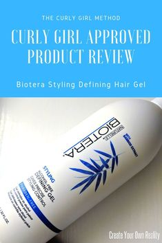 If you follow the Curly Girl Method and are on the hunt for new curly girl approved gel, check out this review of Biotera's Styling Defining Gel. See if they can help your naturally curly hair!