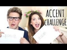 Accent Challenge with Marcus Butler | Zoella - YouTube