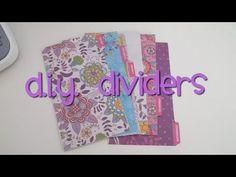 diy: filofax personal dividers