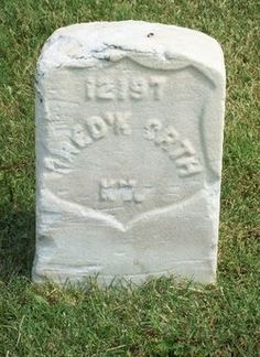 Tombstone Tuesday - Pvt. Frederick Orth (abt 1828-1863) #genealogy #familyhistory
