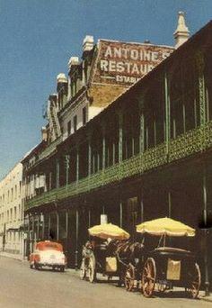 Antoine's Restaurant 1950