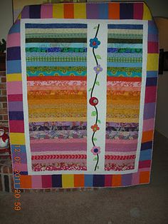 jelly roll with applique