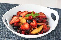 Balsamic Fruit Salad