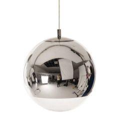 "Mini Mirror Ball Pendant by Tom Dixon Diameter 9.8"""