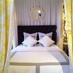 canopi, upholstered beds